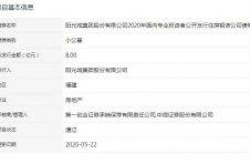 阳光城8亿元住房租赁公司债券已获深交所通过